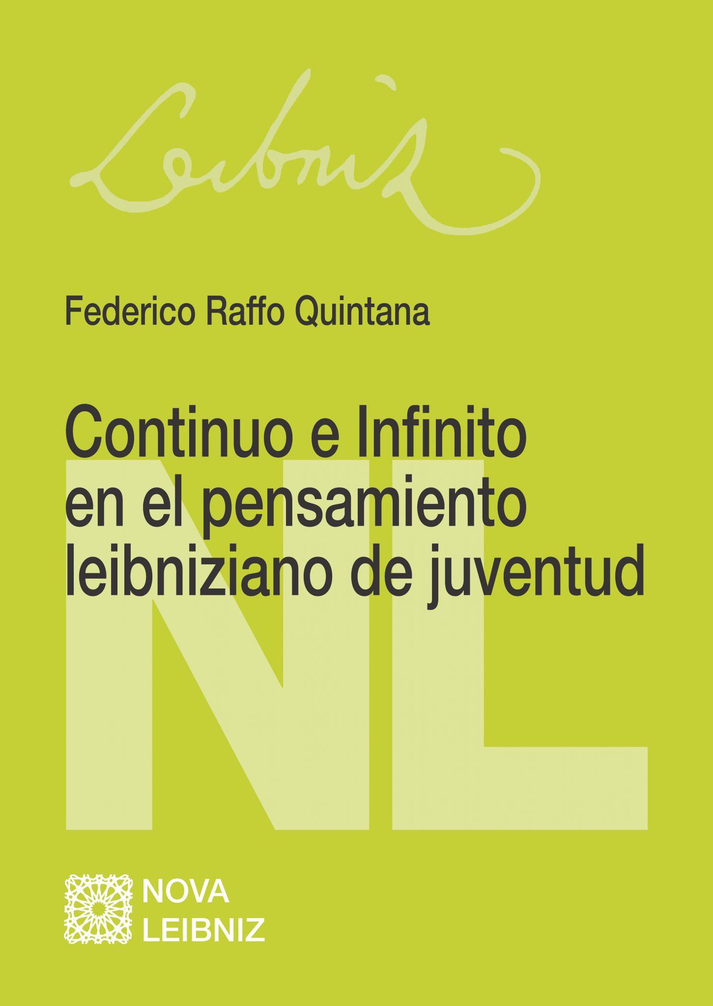 Continuo e Infinito en el pensamiento leibniziano de juventud