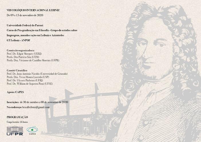 VIII Colóquio Internacional Leibniz