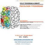 Ciclo «Posverdad a Debate». Psicología y Posverdad