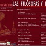 Las filósofas y Leibniz. Workshop internacional. 22-23 sept. Buenos Aires